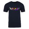 Neopets Pride Pets Adult Short Sleeve T-Shirt in Navy