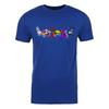 Neopets Pride Pets Adult Short Sleeve T-Shirt in Royal Blue