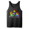 Neopets Pride Rainbow Pets Adult Tank Top in Charcoal