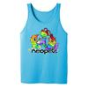 Neopets Pride Rainbow Pets Adult Tank Top in Turquoise