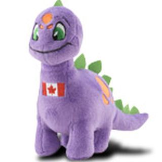 Oh Canada! Purple Chomby Plushie