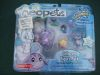 Faerie Poogle and Striped Kougra Figure Pack with Trading Card