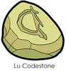 Lu Codestone Enamel Pin