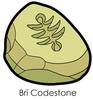 Bri Codestone Enamel Pin
