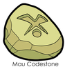 Mau Codestone Enamel Pin