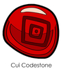 Cui Codestone Enamel Pin