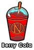 Berry Cola Slushie Enamel Pin