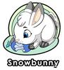 Snowbunny Enamel Pin