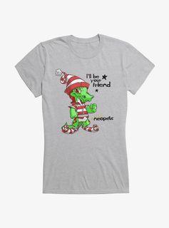 Christmas Krawk Girls T-Shirt - Heather