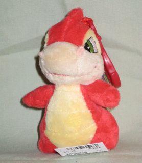 Red Scorchio Plushie Clip