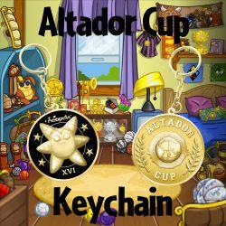 Altador Cup Keychain