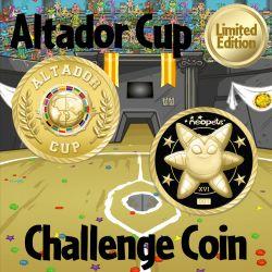 Altador Cup XVI Challenge Coin