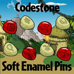 Codestone Soft Enamel Pins