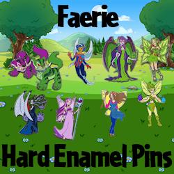 Faerie Hard Enamel Pins