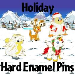 Holiday Hard Enamel Pins