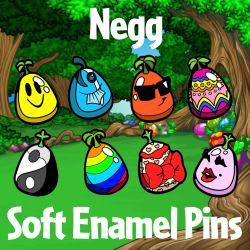 Negg Soft Enamel Pins