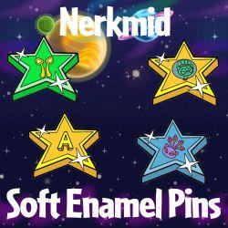 Nerkmid Soft Enamel Pins