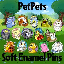 PetPets Soft Enamel Pins