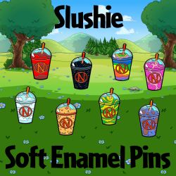Slushie Soft Enamel Pins