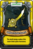 Golden Pirate Sword
